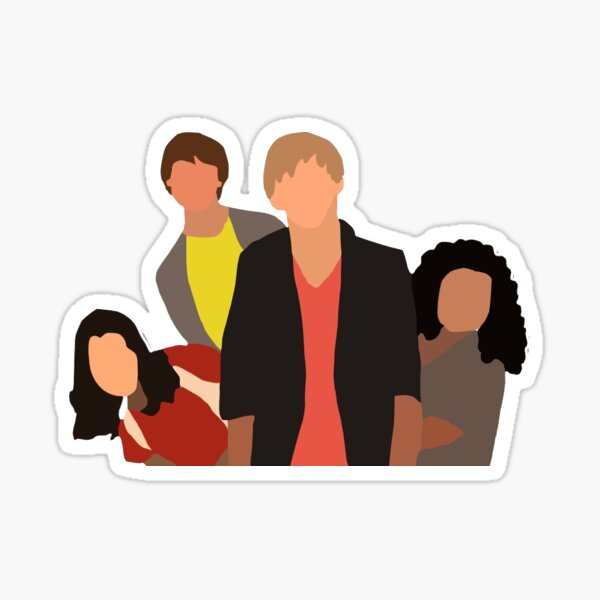 AUSTIN & ALLY DESIGN Sticker