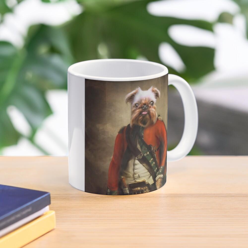 Griffon Bruxellois Dog Portrait - Jack Mug