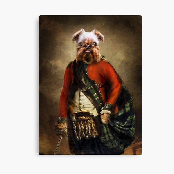 Griffon Bruxellois Dog Portrait - Jack Canvas Print