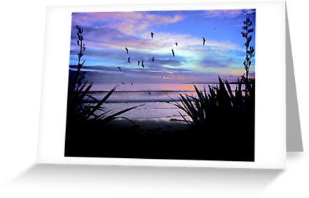 Sunset Downunder by Karen Lewis