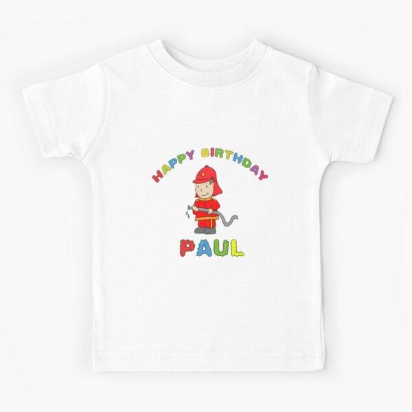 Birthday Happy Birthday Paul children's birthday Kids T-Shirt