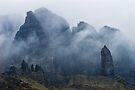 The Old Man of Storr looking angry by Cliff Williams