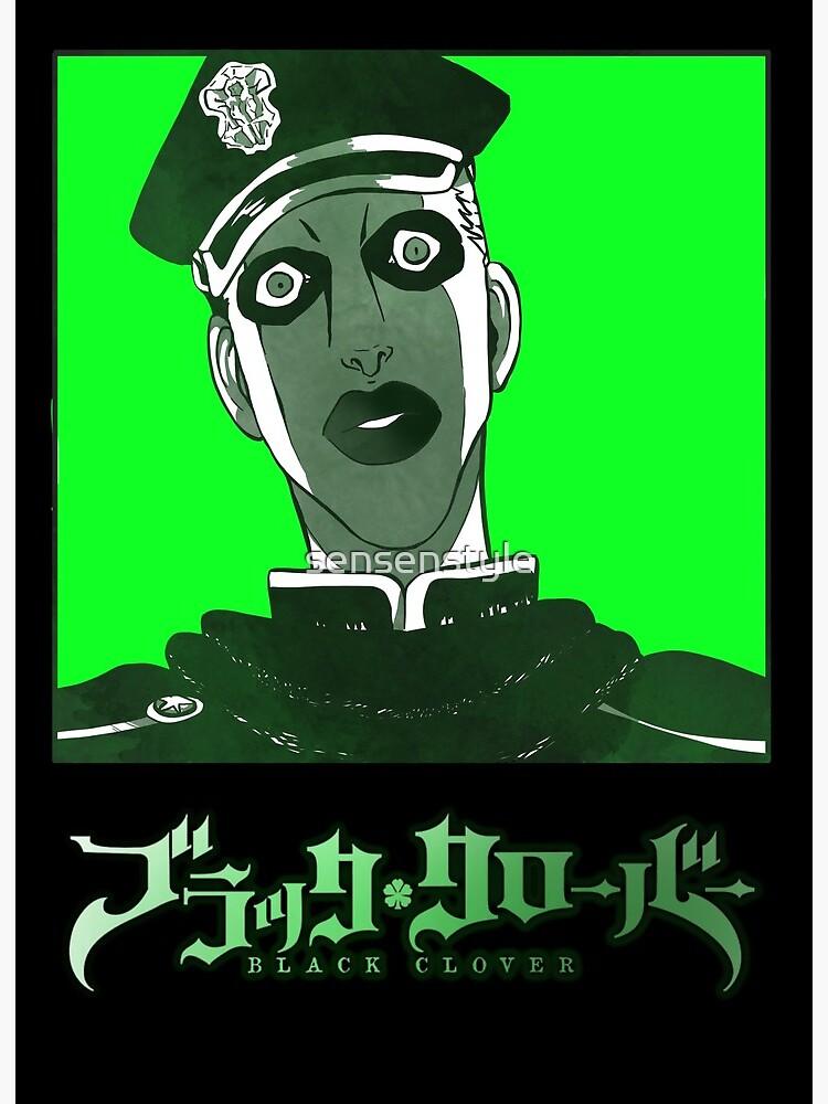 Black Clover Gordon Agrippa Art Board Print By Sensenstyle Redbubble