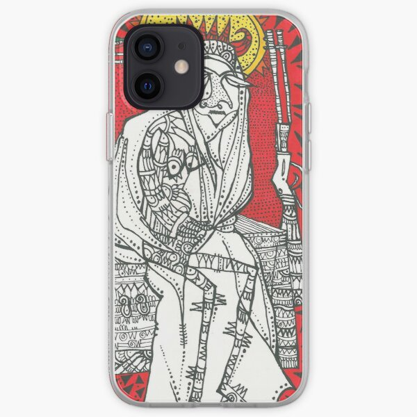 """""""Lady in red"""" by Tara Mokhtari iPhone Soft Case"""