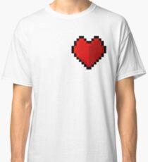 Pixel heart - I love retro Classic T-Shirt