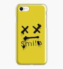 S M I L E iPhone Case/Skin