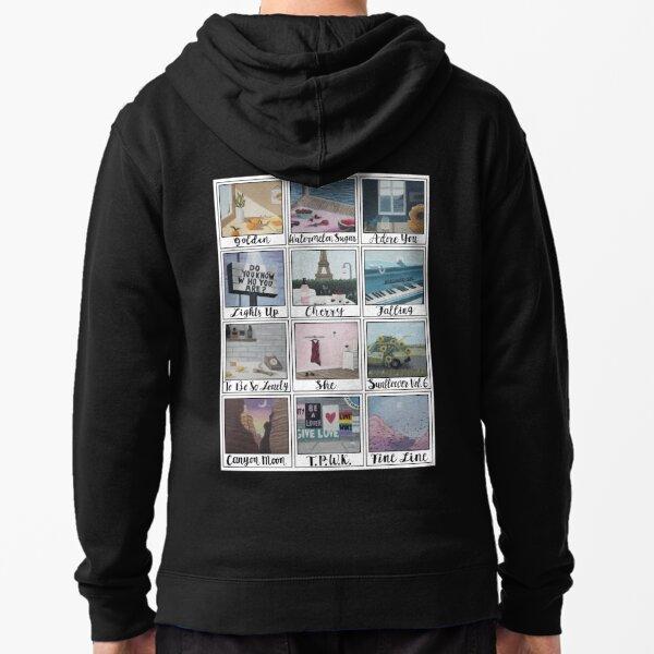 Fine Line As Polaroids: A Series  Zipped Hoodie