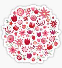 Summer Flowers Sticker