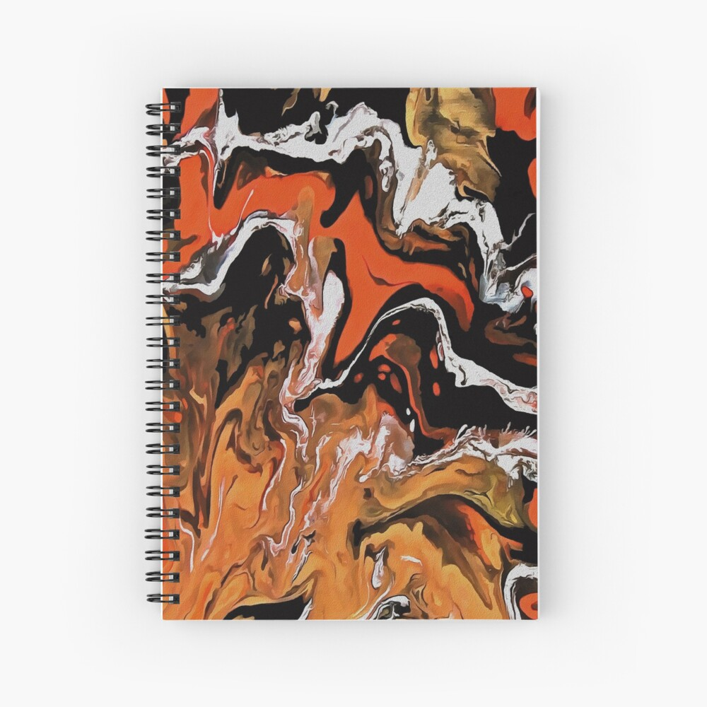 Autumn 14- Beginnings Spiral Notebook
