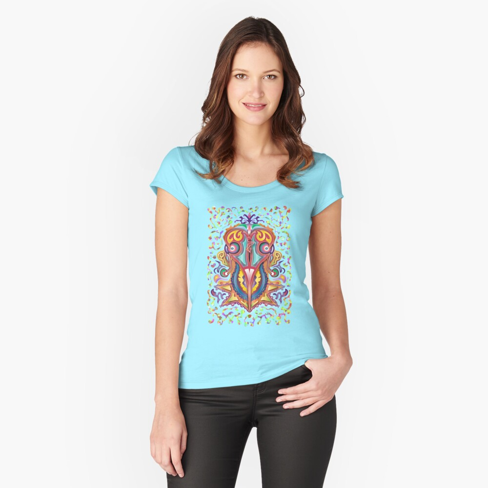 Turkey Broth Fitted Scoop T-Shirt