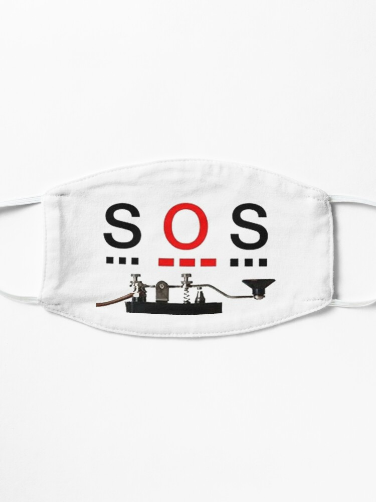 Alternate view of SOS Design by MbrancoDesigns Mask