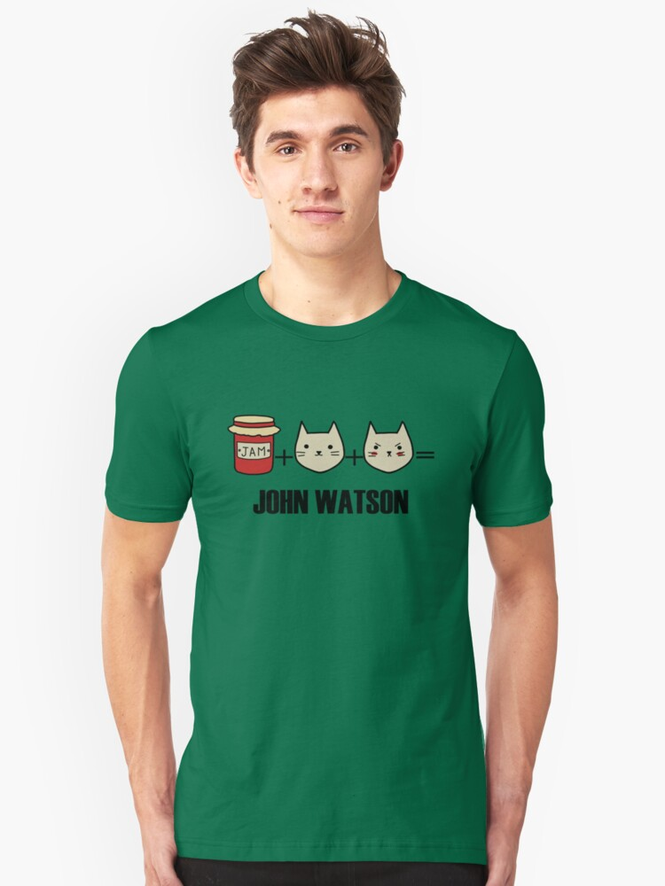 Jawn is made of jam, kittens and rage Unisex T-Shirt Front