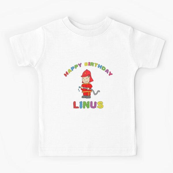 Birthday Happy Birthday Linus children's birthday Kids T-Shirt
