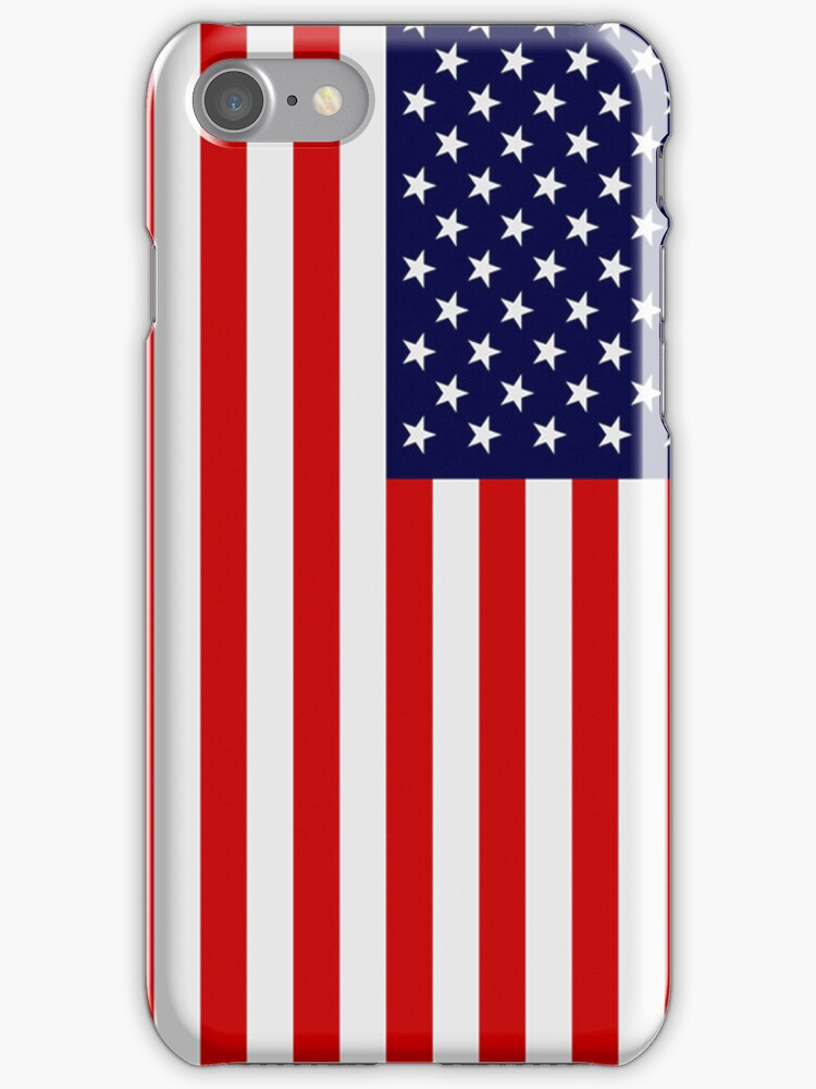 American flag case by lrenato