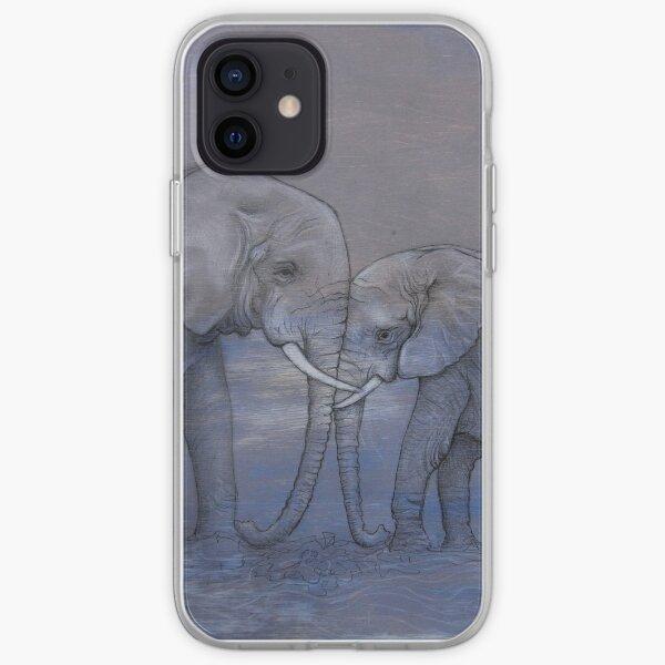 Elephant Love iPhone Soft Case