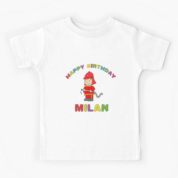 Birthday Happy Birthday Milan children's birthday Kids T-Shirt