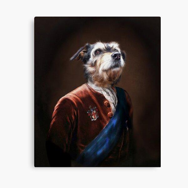 Dog Portrait - Dude Canvas Print
