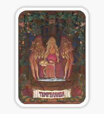 La Temperanza (Temperance, tarot card) Sticker