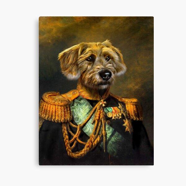 Dog Portrait - Doogle Canvas Print