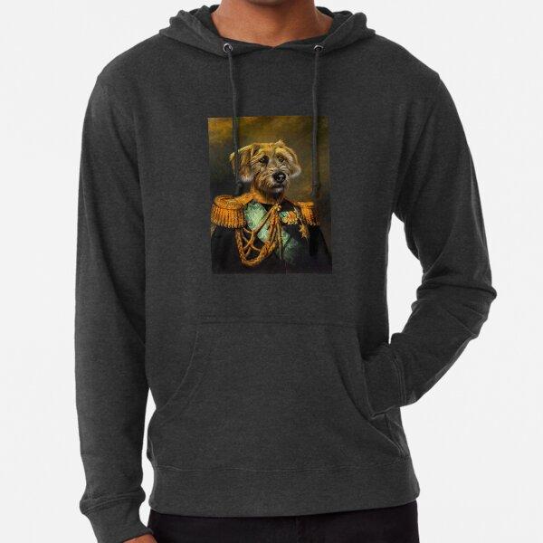Dog Portrait - Doogle Lightweight Hoodie