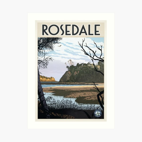 Rosedale Art Print