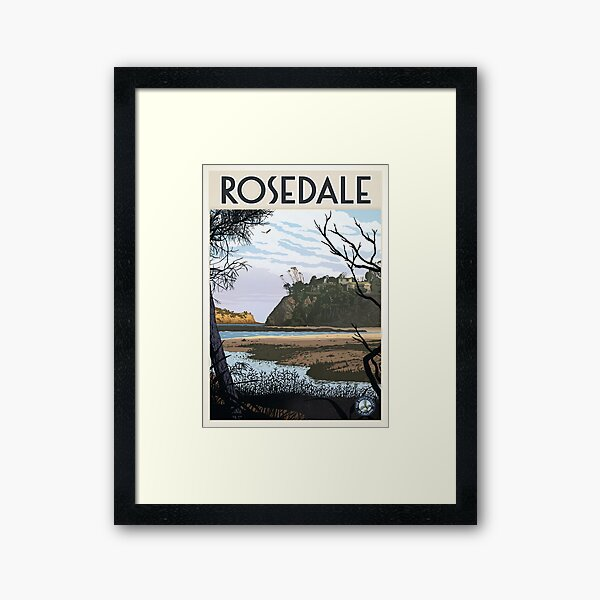 Rosedale Framed Art Print