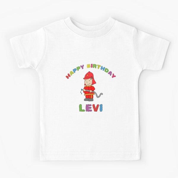 Birthday Happy Birthday Levi children's birthday Kids T-Shirt