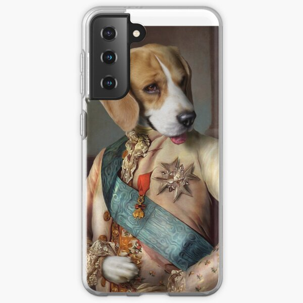 Beagle Dog Portrait - Louis Samsung Galaxy Soft Case