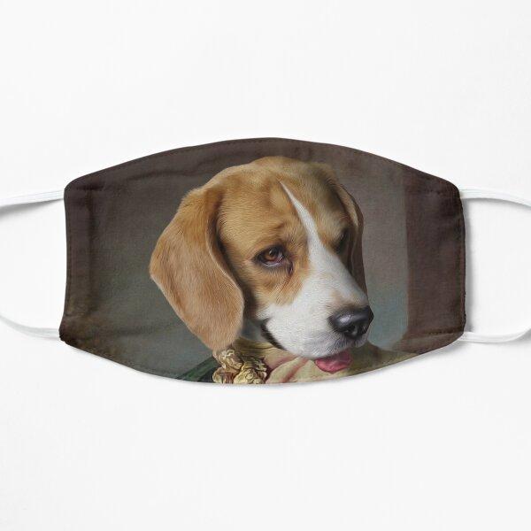 Beagle Dog Portrait - Louis Flat Mask