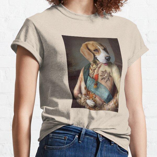Beagle Dog Portrait - Louis Classic T-Shirt