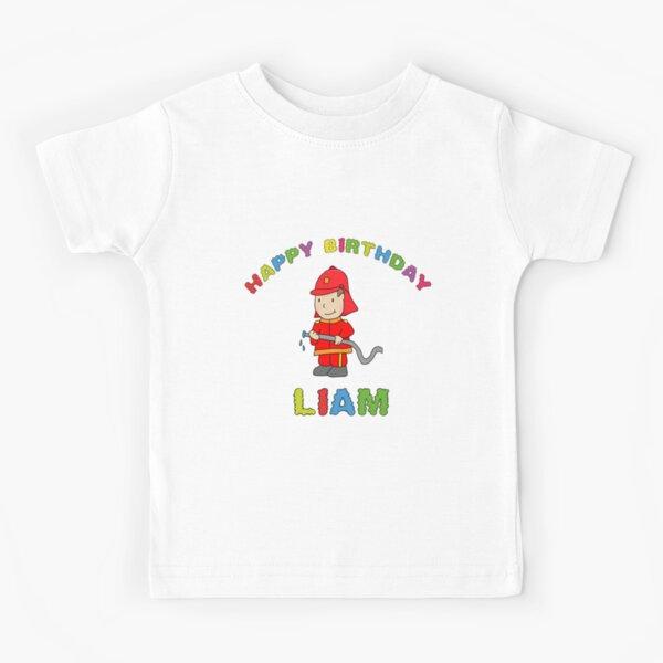 Kindergeburtsatg happy birthday Liam boy child Kids T-Shirt