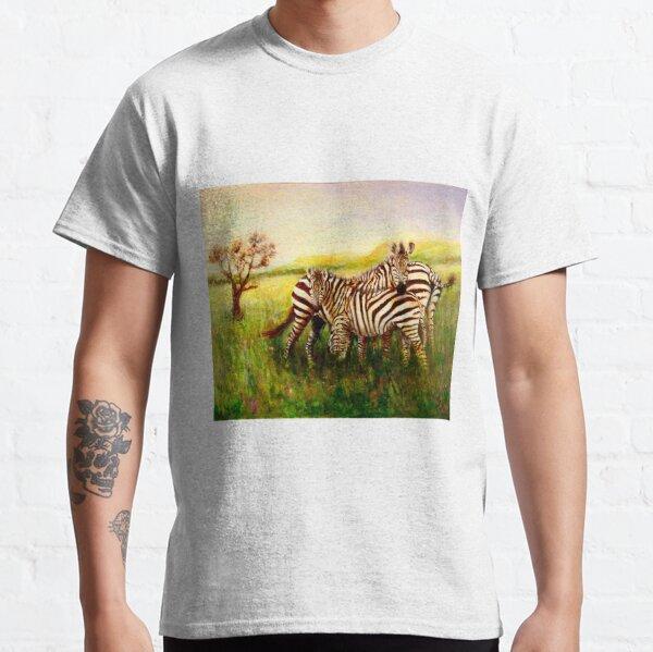 Zebras at Ngorongoro Crater Classic T-Shirt