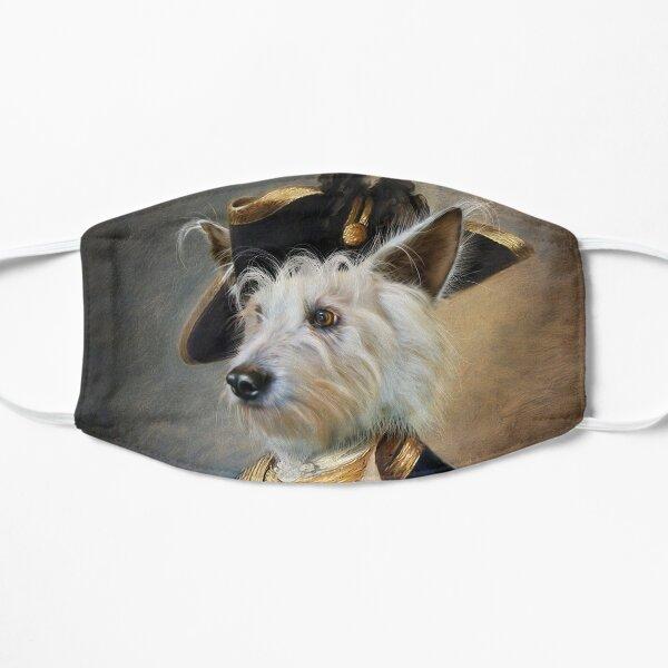 Dog Portrait - Barkley Flat Mask