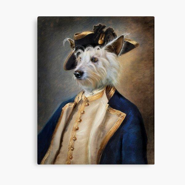 Dog Portrait - Barkley Canvas Print