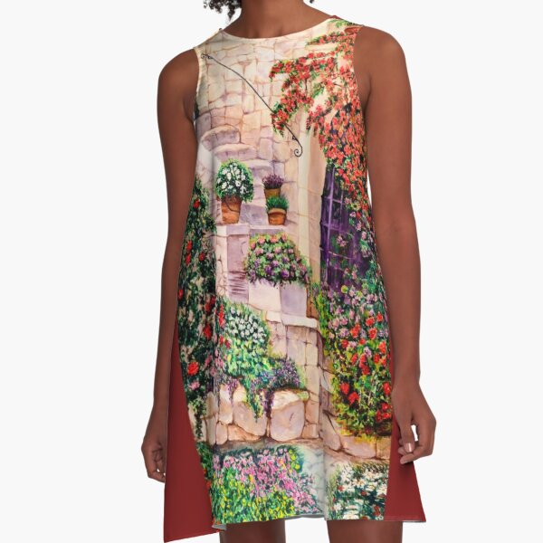 House in Oyster Bay A-Line Dress