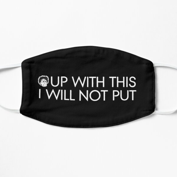 Black Books - Up With This I Will Not Put Mask