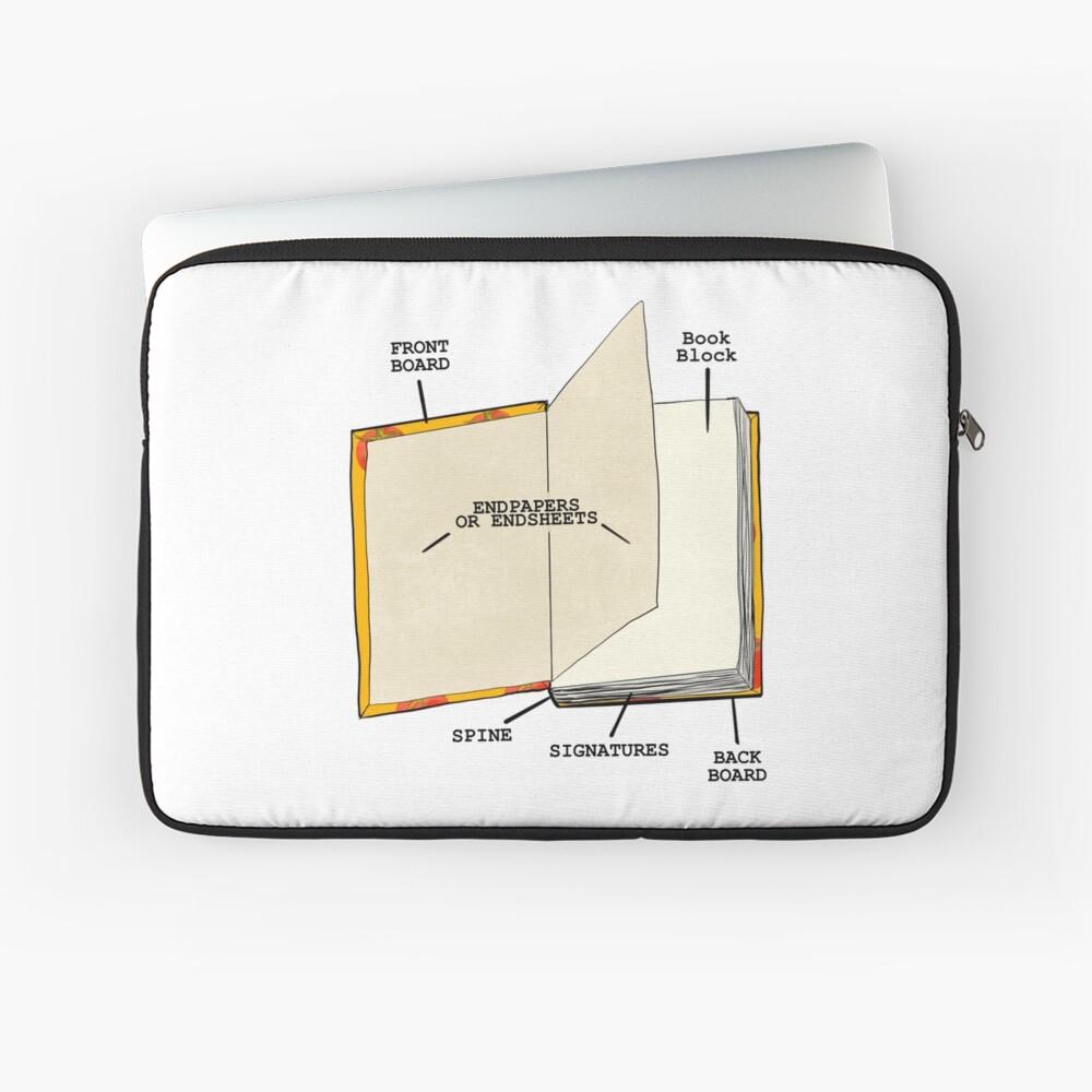Book internal anatomy Laptop Sleeve