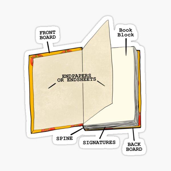 Book internal anatomy Sticker