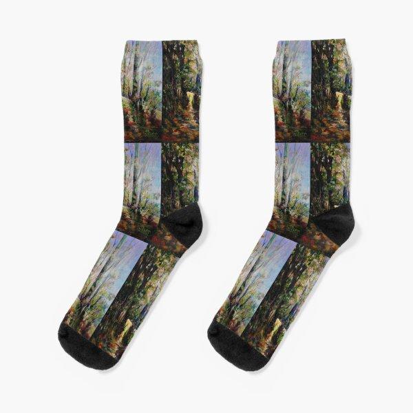 Enchanted Forest Socks