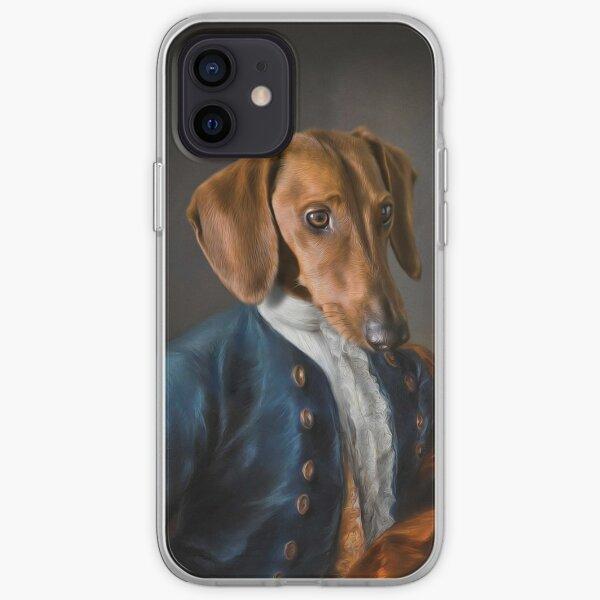 Short Haired Dachshund Portrait - Rueben iPhone Soft Case