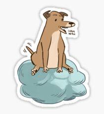 Dog of Wisdom Sticker