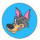 The Big Bad Winking Wolf by joeybear