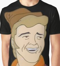 Jerry Reed Scooby Doo Graphic T-Shirt