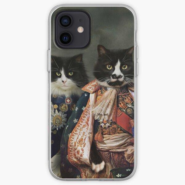 Cat Portrait - Michael and Hero iPhone Soft Case