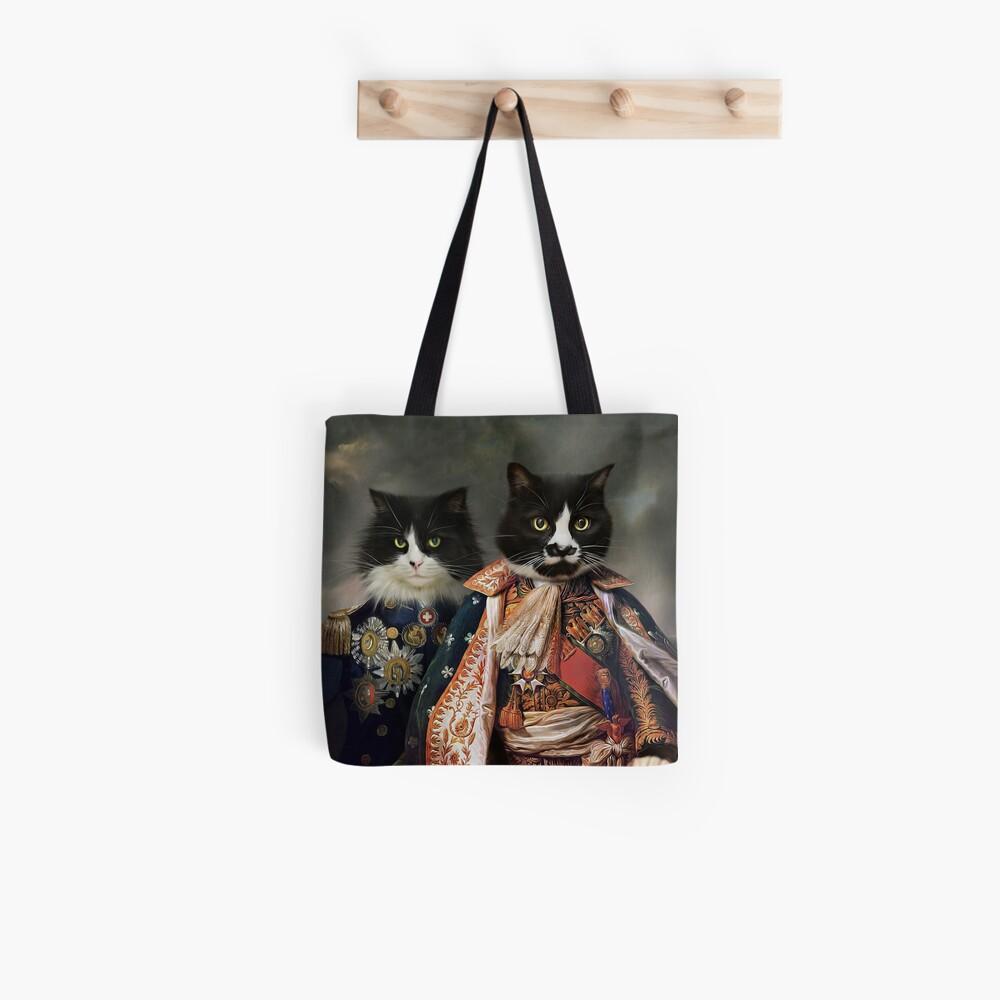 Cat Portrait - Michael and Hero Tote Bag