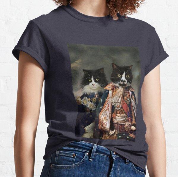 Cat Portrait - Michael and Hero Classic T-Shirt