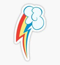 My little Pony - Rainbow Dash Cutie Mark Sticker