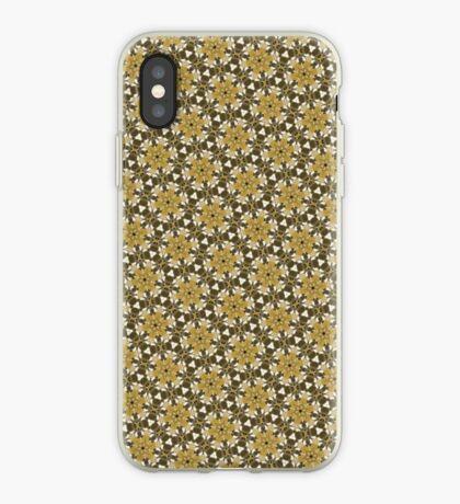 Brown Kaleidoscope Pattern iPhone case iPhone Case