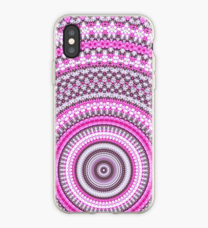 Pretty Pink Mandala pattern iPhone case iPhone Case