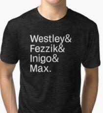 Helvetica Bride Tri-blend T-Shirt